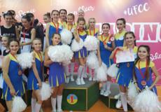 Шепетівські чирлідери стали чемпіонами України серед юніорів