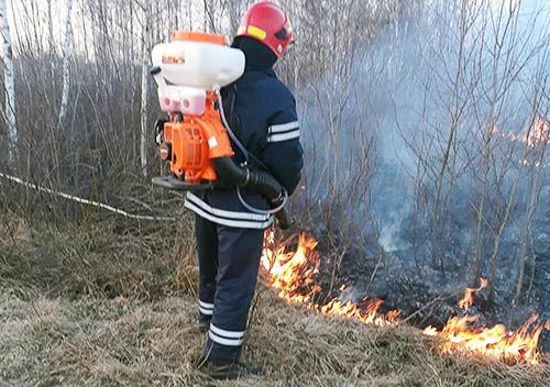 На Шепетівщині знову горіла трава