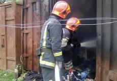 Дитячі пустощі з вогнем призвели до пожежі