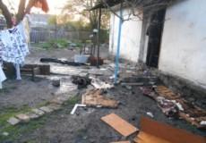 Екшен у Шепетівському районі розпочався із мордобиття, а закінчився підпалом