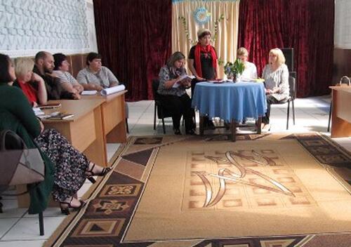 На Шепетівщині культпрацівники провели ділову гру «Від задуму до втілення»
