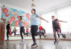 У Шепетівці набирає популярності новий вид фітнесу — Кенгу джампс