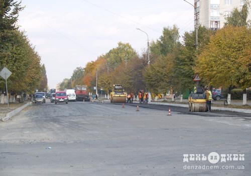 У Шепетівці ремонт на Старокостянтинівському шосе — «все»