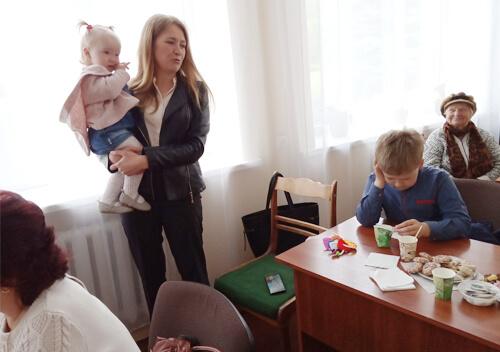 Зустріч клубу активного довголіття присвятили сім'ї та материнству