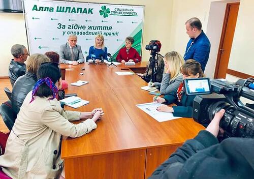 На Хмельниччині обговорили нову національну стратегію України, що базується на ідеї соціальної справедливості
