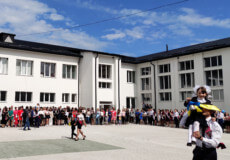 У Судилківській школі під час лінійки учні презентували родзинки-досягнення