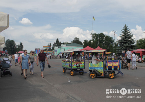 У Шепетівці вперше відзначають День міста в червні