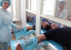 Шепетівські копи здавали кров добровільно