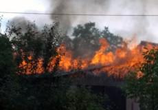 У Шепетівці смаження шашлику закінчилося пожежею