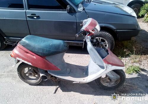 Під'їхати додому сп'янілий чоловік вирішив на краденому скутері