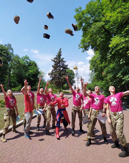 Несамовиті орли з Шепетівки стали призерами всеукраїнської патріотичної гри