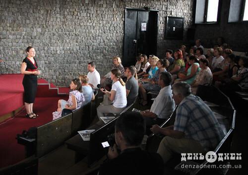 Голос львівського Євромайдану відвідала Шепетівку