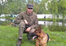 У Хмельницькому гвардійці та службовий пес Леон затримали порушницю