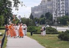 У Нетішині танцями та піснями «очищали» духовну атмосферу міста
