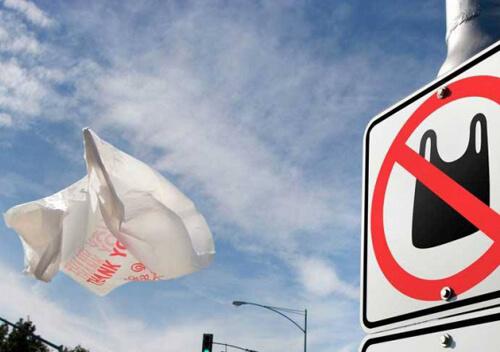 Пластикові пакети зникнуть у закладах торгівлі