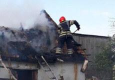 У Хуторі вогнеборці ліквідували пожежу господарчої будівлі