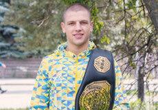 Дмитро Гриценко привіз у Шепетівку чемпіонський пояс рейтингового турніру з ММА