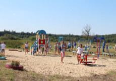 За кошти громадського бюджету в Славуті відкрили дитячий майданчик