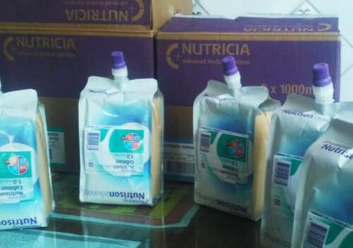 Шепетівська лікарня отримала від компанії-благодійника спецхарчування