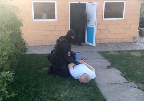 Правоохоронці зіпсували іменини «злодія в законі»