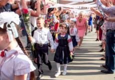 У Шепетівці 670 першокласників сіли за парти