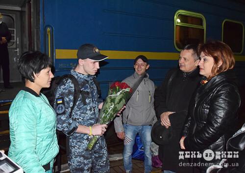 Удосвіта в Шепетівку повернувся моряк Сергій Цибізов