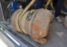 У Полонному частину козацької гармати здали на металобрухт за 1000 гривень
