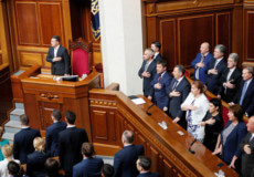 Верховна Рада зняла недоторканність з народних депутатів