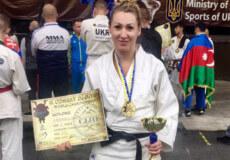 Хмельницька поліцейська стала чемпіонкою світу з Комбат Дзю-Дзюцу