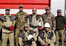 Під час навчань авіатори-пожежники діяли чітко, не підвела їх і техніка