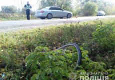 На Хмельниччині велосипедист зіштовхнувся з іномаркою