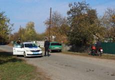 На Шепетівщині 2 порушники ПДР випадково натрапили на поліцейських