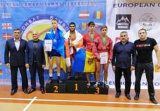 Самбісти Хмельниччини гідно виступили на чемпіонаті Європи