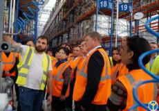 Працівники служб зайнятості Хмельниччини переймали досвід співпраці з роботодавцями у Славуті
