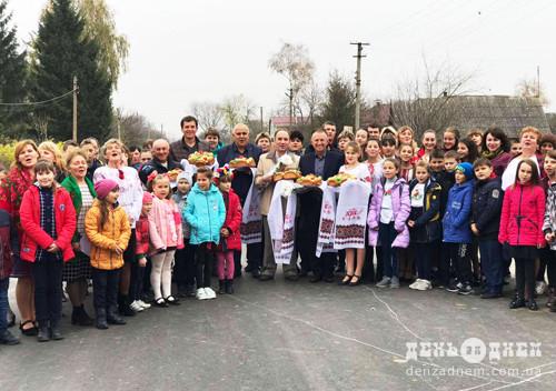Аби зберегти дорогу вартістю 7 мільйонів, селяни на Шепетівщині виходили на протести