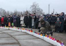 У Шепетівці згадували жертв Голодоморів