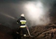 Вогнеборці Хмельниччини за минулу добу тричі гасили палаюче сміття