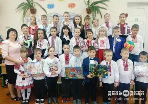 День народження школи-гімназії другокласники відзначили інтелектуальною грою