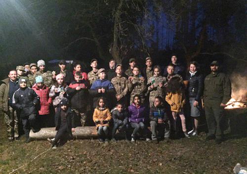 Юним шепетівчанам організували табір у Савичах