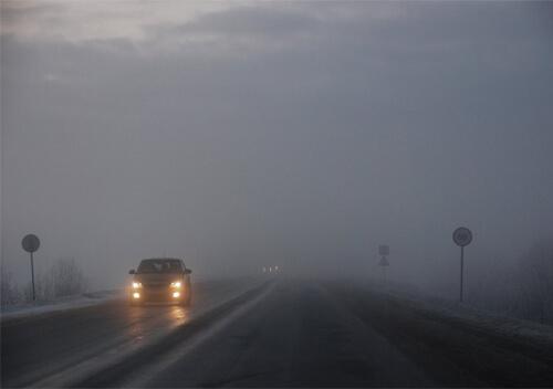 До уваги водіїв: на території Хмельниччини прогнозують сильний туман