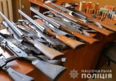Жителі Хмельницької області здали до органів поліції майже 350 одиниць зброї