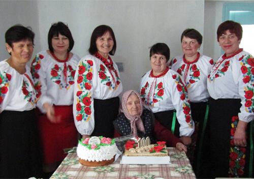 Найстарішій мешканці Славутчини, яка двічі обиралася районним депутатом, виповнилося 100 років