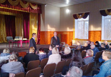 Голова ОДА зустрівся з жителями трьох сіл Шепетівщини