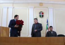 Сесія Шепетівської районної ради розпочалася з урочистостей