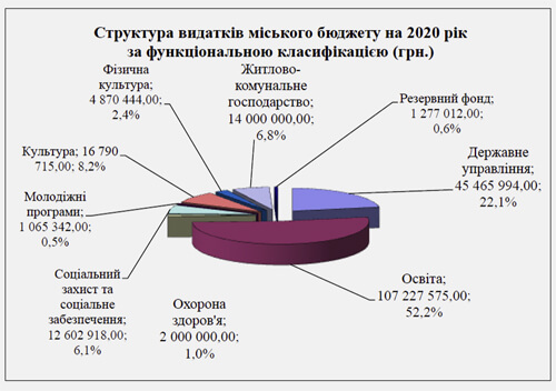У міському бюджеті Шепетівки на 2020-й рік — 52% видатків на освіту