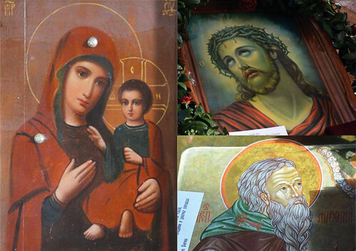 У Полонне та Шепетівку привезуть чудотворні ікони з Афону