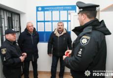 На Хмельниччині відкрилася перша поліцейська станція