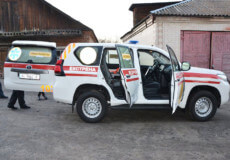 Полонщина отримала медичне авто вартістю понад мільйон гривень