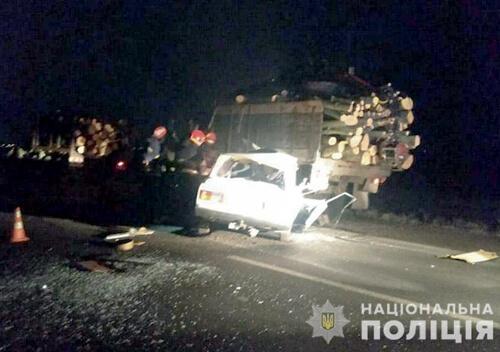 На Хмельниччині п'яний водій спричинив ДТП з летальними наслідками
