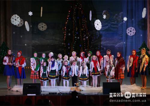 У Шепетівці відбувся ювілейний різдвяний фестиваль